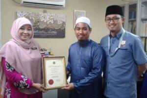 Program Pemantauan Dari Jabatan Agama Islam Selangor (JAIS)... Alhamdulillah.